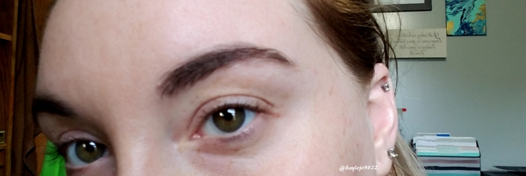 brow with product