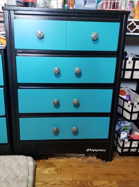 finsihed big dresser